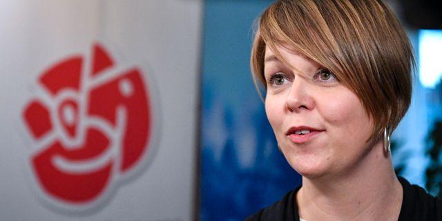 Katrin Stjernfeldt Jammeh (S), kommunstyrelsens ordförande i Malmö.  Johan Nilsson/TT / TT NYHETSBYRÅN