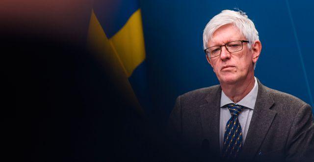 Johan Carlson. MAXIM THORE / BILDBYRÅN