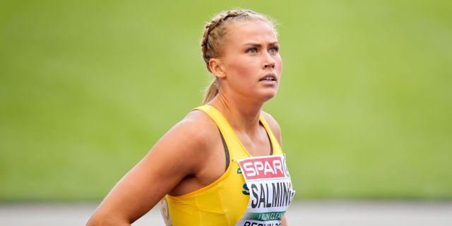 Bianca Salming.  Jessica Gow/TT / TT NYHETSBYRÅN