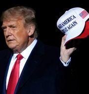 Donald Trump.  Alex Brandon / TT NYHETSBYRÅN