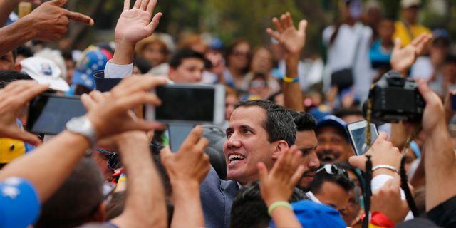 Juan Guaidó. Fernando Llano / TT NYHETSBYRÅN/ NTB Scanpix