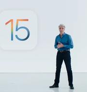 Apples Craig Federighi presenterar IOS15 Apple/Youtube