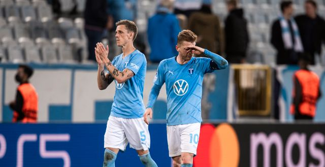 Sören Rieks och Anders Christiansen efter matchen. PETTER ARVIDSON / BILDBYRÅN