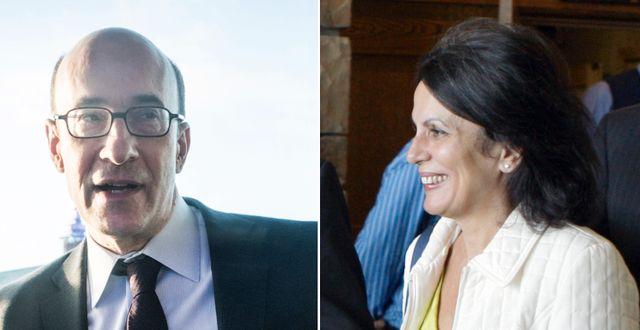 Kenneth Rogoff och Carmen Reinhart   Magnus Hjalmarson Neideman/SvD/TT och Reed Saxon/AP/TT