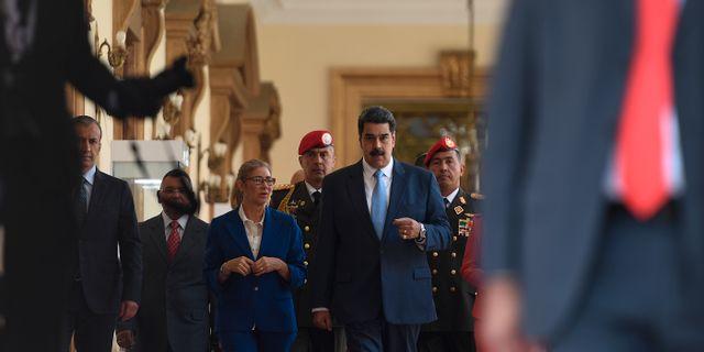 Nicolás Maduro Matias Delacroix / TT NYHETSBYRÅN
