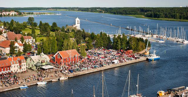 Hamnen i Nyköping. Gunta Podina