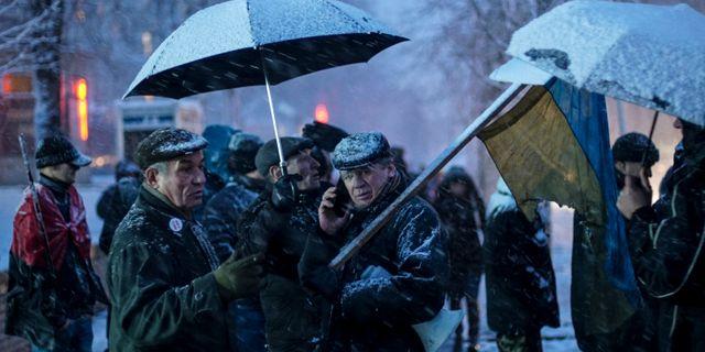 Demonstrationen i Ukraina. Evgeniy Maloletka / TT / NTB Scanpix