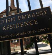 Den brittiska ambassaden i Washington. WIN MCNAMEE / GETTY IMAGES NORTH AMERICA