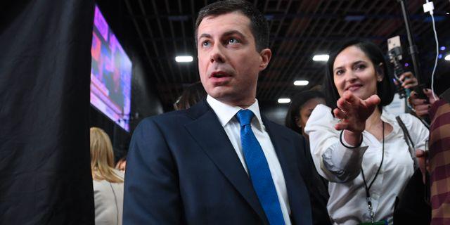 Pete Buttigieg.  SAUL LOEB / AFP