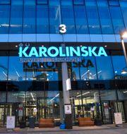 Karolinska Universitetssjukhuset.  Fredrik Sandberg/TT / TT NYHETSBYRÅN