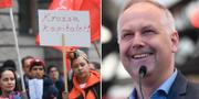 Vänsterpartiets demonstrationståg i Stockholm på första maj i år/Jonas Sjöstedt. TT