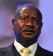 Ugandas president Yoweri Museveni.  Carl Court / POOL AFP