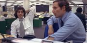 Bob Woodward och  Carl Bernstein som vann Pulitzerpriset för sin rapportering om Watergateskandalen. TT / NTB Scanpix