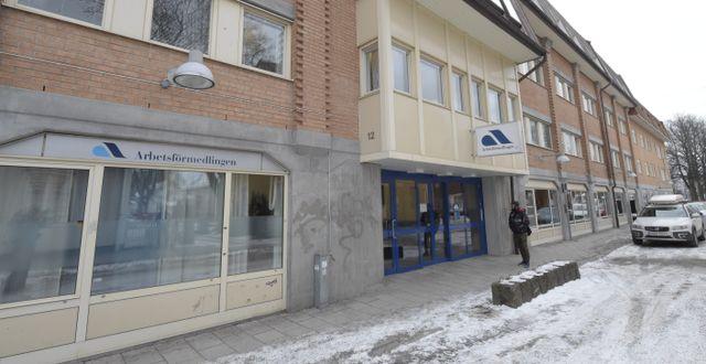 Arbetsförmedlingen i Borlänge. Ulf Palm/TT / TT NYHETSBYRÅN