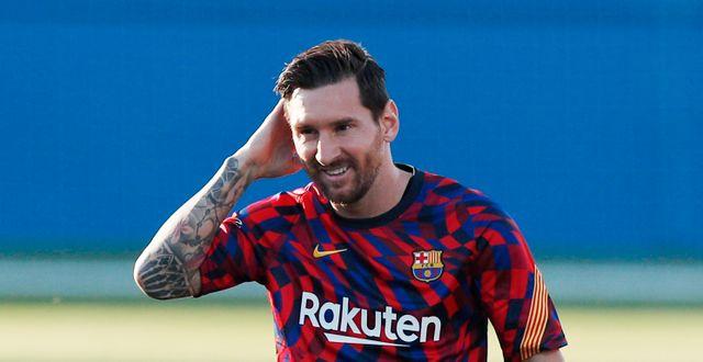 Lionel Messi. ALBERT GEA / BILDBYRÅN