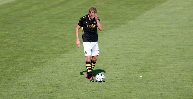AIK:s Sebastian Larsson under matchen. Adam Ihse/TT / TT NYHETSBYRÅN