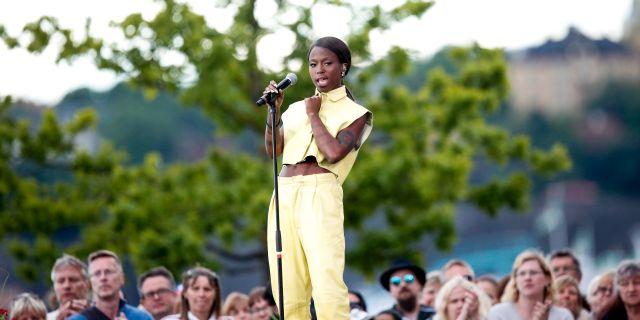 Sabina Ddumba. Christine Olsson/TT / TT NYHETSBYRÅN