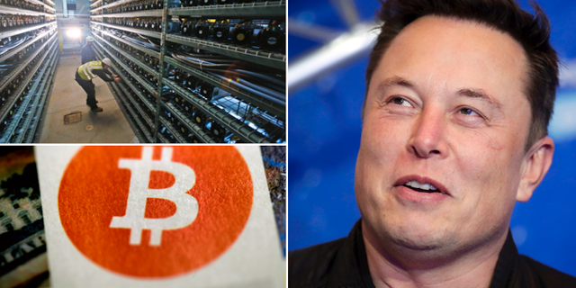 Bitcoin-datacenter i Virginia Beach, USA/Elon Musk. TT