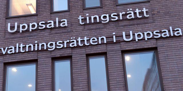 Illustrationsbild på Uppsala tingsrätt Henrik Montgomery/TT / TT NYHETSBYRÅN