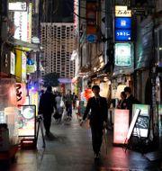Tokyo. Christophe Ena / TT NYHETSBYRÅN