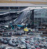 Förödelsen efter branden i Stavanger. CARINA JOHANSEN / NTB Scanpix