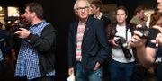Konstnären Lars Vilks under tisdagskvällens vernissage på Fotografiska museets Fredrik Sandberg/TT / TT NYHETSBYRÅN