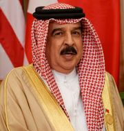 Arkivbild: Bahrains kung Hamad bin Isa Al Khalifa.  Evan Vucci / TT NYHETSBYRÅN