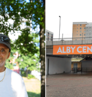 Fesshaye Ressom som bor i Norsborg / Alby centrum.  TT