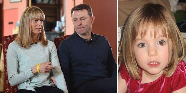 Madeleine McCanns föräldrar Kate och Gerry McCann i en intervju 2017. TT