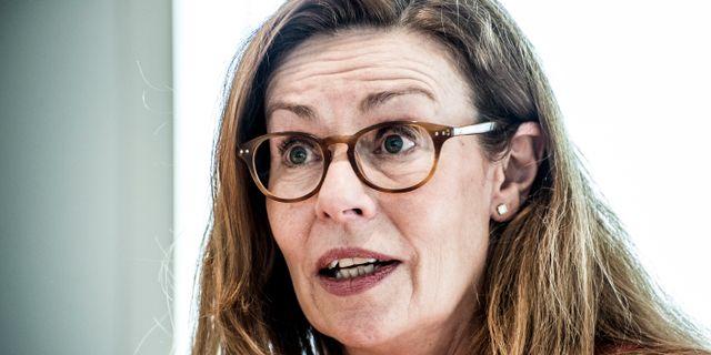 Vd Birgitte Bonnesen. Arkivbild.  Lars Pehrson/SvD/TT / TT NYHETSBYRÅN