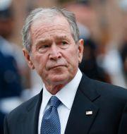 George W Bush.  Gerald Herbert / TT NYHETSBYRÅN