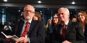 Jeremy Corbyn och John McDonnell, Labour.  OLI SCARFF / AFP