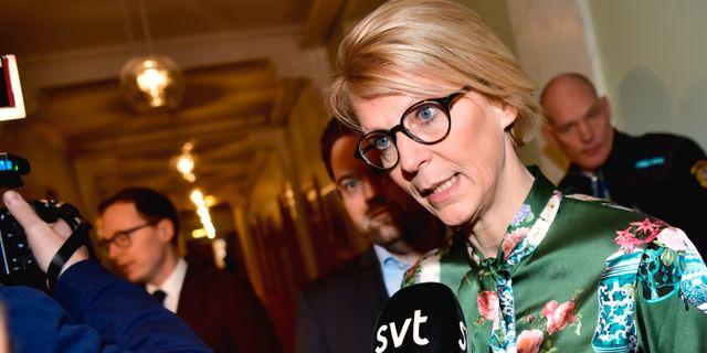 Elisabeth Svantesson.  Jonas Ekströmer/TT / TT NYHETSBYRÅN