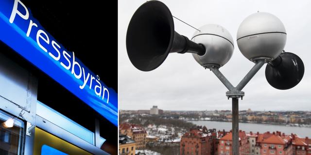 """Pressbyrån och """"Hesa Fredrik"""". TT"""