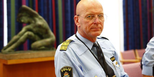 Erik Nord, polischef för Storgöteborg. Arkivbild. Thomas Johansson / TT NYHETSBYRÅN