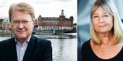 Lars Adaktusson (KD) / Marita Ulvskog (S) TT
