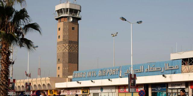 Arkivbild. Flygplatsen i Sanaa. Hani Mohammed / TT / NTB Scanpix
