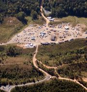 Arkivbild: Colonial Pipelines anläggning i Helena, Alabama (september 2016). Brynn Anderson / TT NYHETSBYRÅN