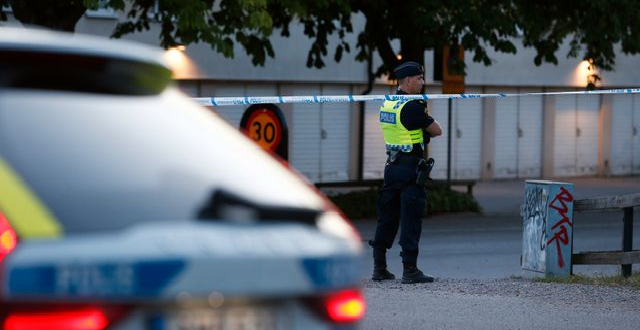 En stor polisinsats pågår i Linköping. Magnus Andersson/ TT / TT NYHETSBYRÅN