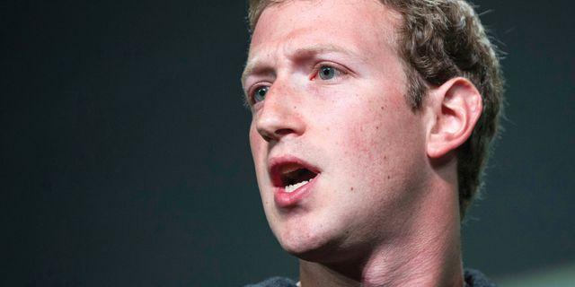 Facebooks grundare och vd Mark Zuckerberg. Bloomberg / Bloomberg