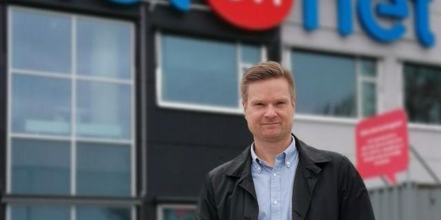 Stefan Andersson, affärsområdeschef på NetOnNet