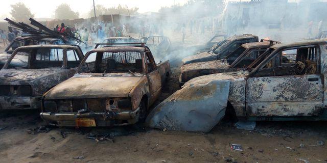 Arkivbild efter attack av Boko Haram 2017. Hamza Suleiman / TT / NTB Scanpix