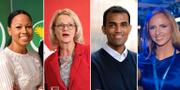 Alice Bah Kuhnke (MP), Heléne Fritzon (S), Said Abdu (L) och Sara Skyttedal (KD) är några av toppnamnen till EU-parlamentet som har svarat på Ekots enkät.  TT