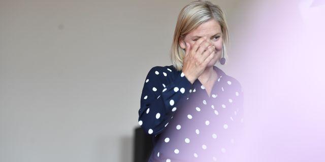 Magdalena Andersson Henrik Montgomery/TT / TT NYHETSBYRÅN