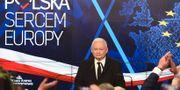 Jaroslaw Kaczynski, partiledare för Lag och rättvisa. JANEK SKARZYNSKI / AFP