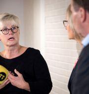 Marie Linder, förbundsordförande för Hyresgästföreningen. Thommy Tengborg/TT / TT NYHETSBYRÅN