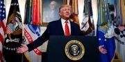 USA:s president Donald Trump. JIM BOURG / TT NYHETSBYRÅN