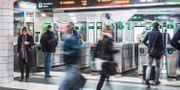 Tunnelbanan vid T-centralen i Stockholm.  Veronica Johansson/SvD/TT / TT NYHETSBYRÅN