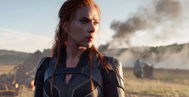 """Illustrationsbild: Scarlett Johansson i """"Black Widow"""". TT NYHETSBYRÅN"""