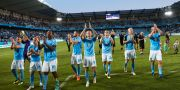 Malmö FF efter kvalmatchen mot CFR Cluj.  Andreas Hillergren/TT / TT NYHETSBYRÅN